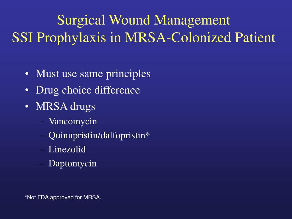 Surgical Wound Management