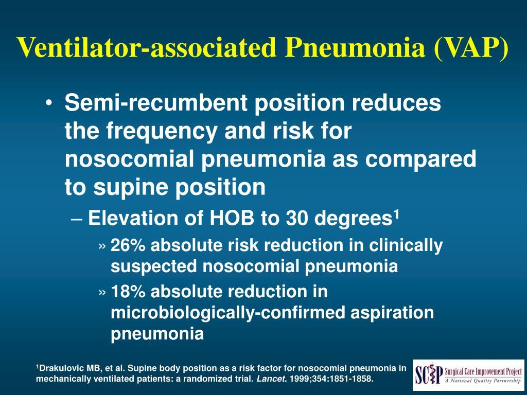 Ventilator-associated Pneumonia (VAP)