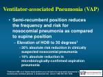 ventilator associated pneumonia vap52