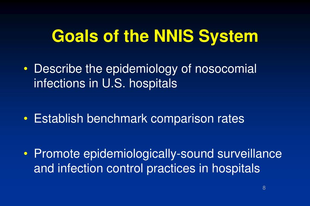 Goals of the NNIS System