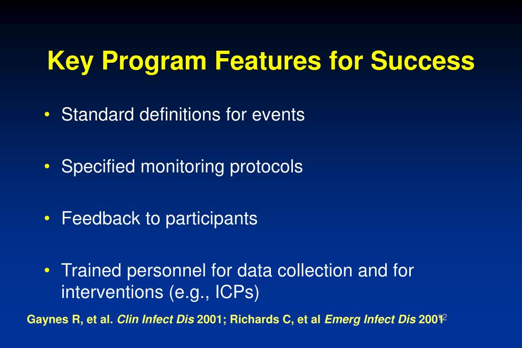 Key Program Features for Success