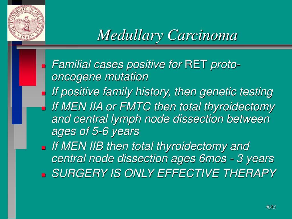 Medullary Carcinoma