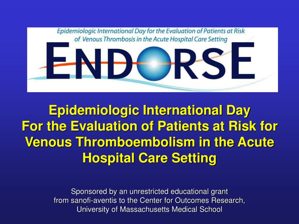 Epidemiologic International Day