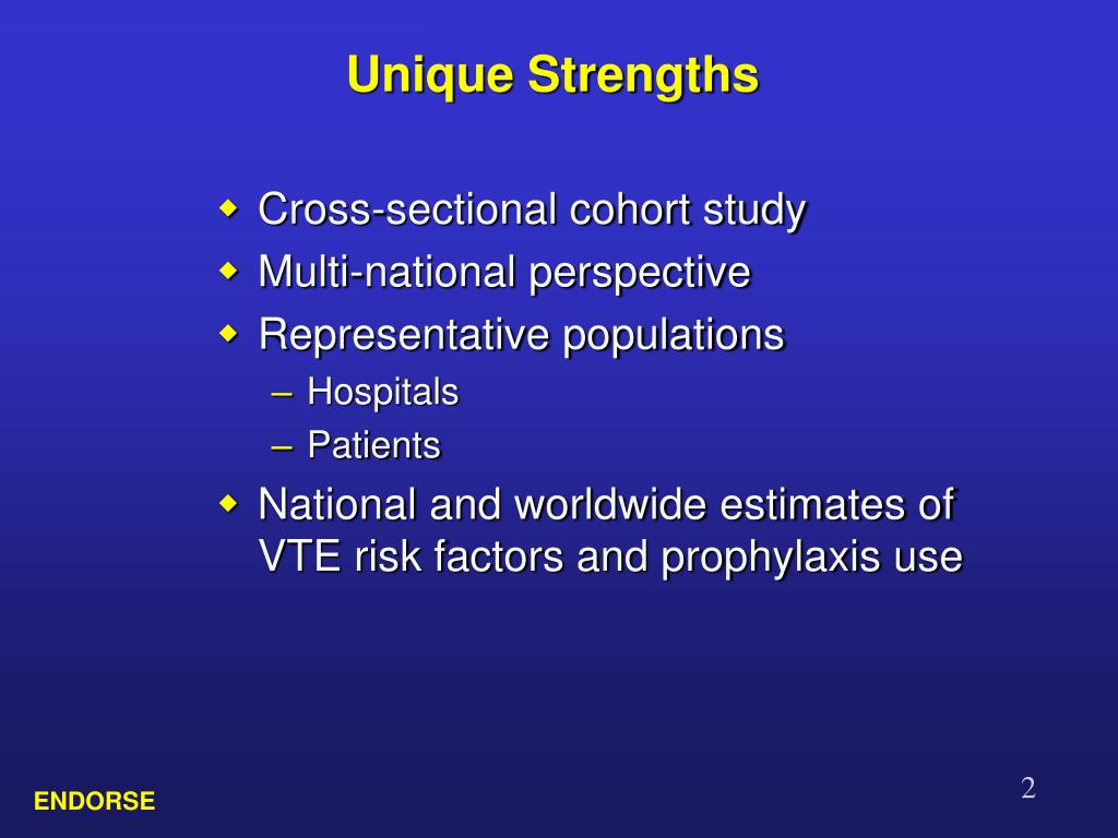 Unique Strengths