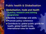 public health globalisation10