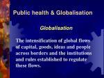 public health globalisation4