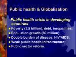 public health globalisation8