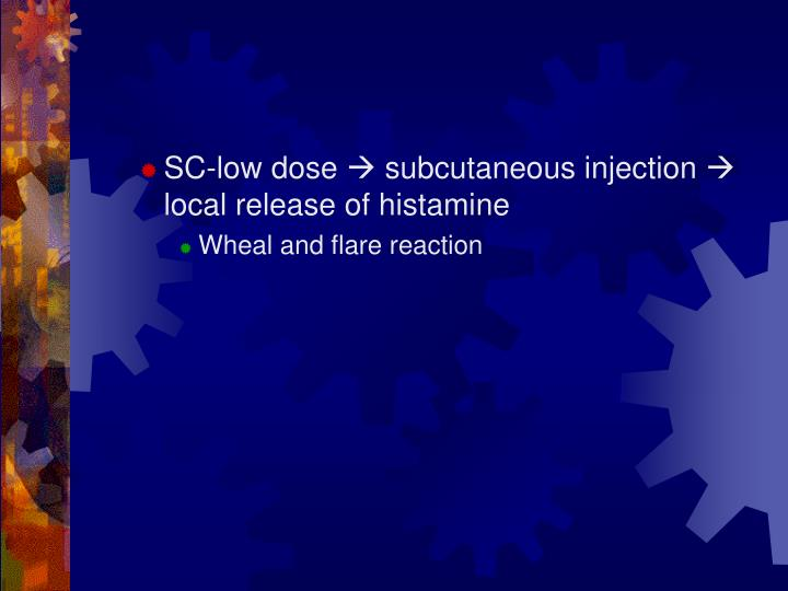 SC-low dose