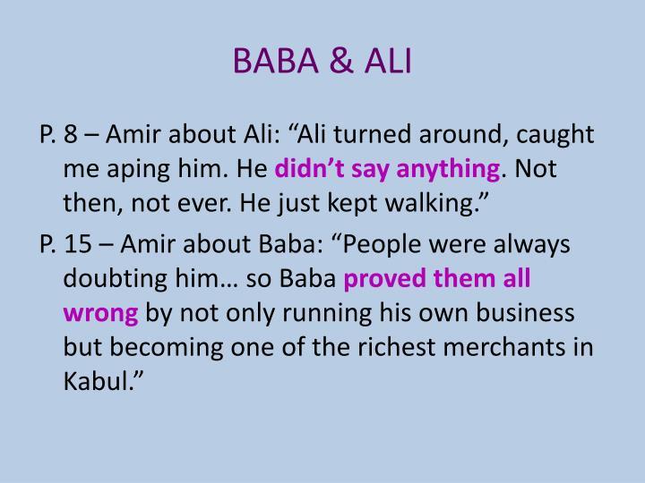 BABA & ALI