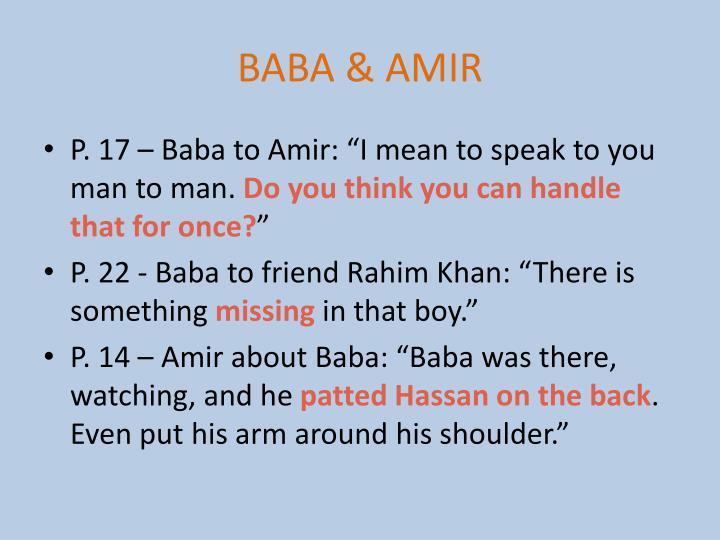 BABA & AMIR