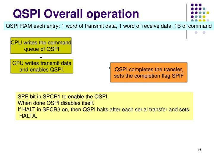 QSPI Overall operation