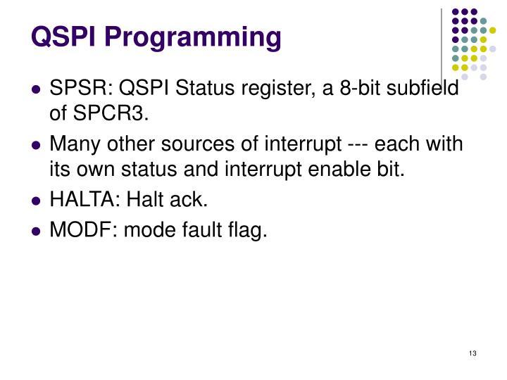 QSPI Programming