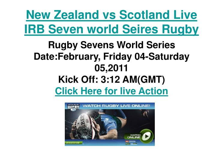 New zealand vs scotland live irb seven world seires rugby