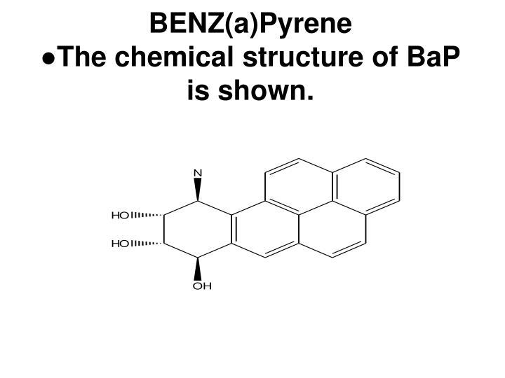 BENZ(a)Pyrene