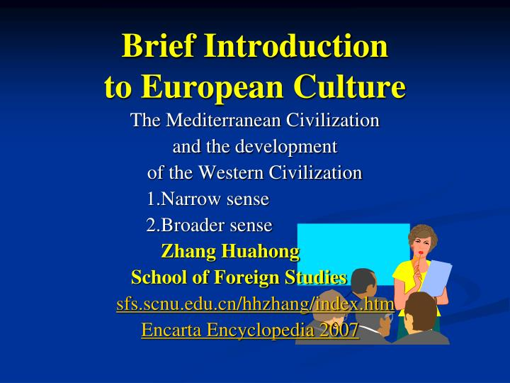 introduction to european culture