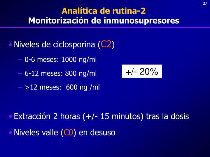Analítica de rutina-2