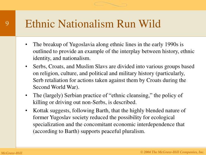 Ethnic Nationalism Run Wild