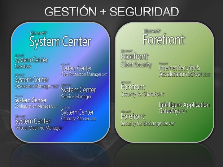 Gestión + Seguridad
