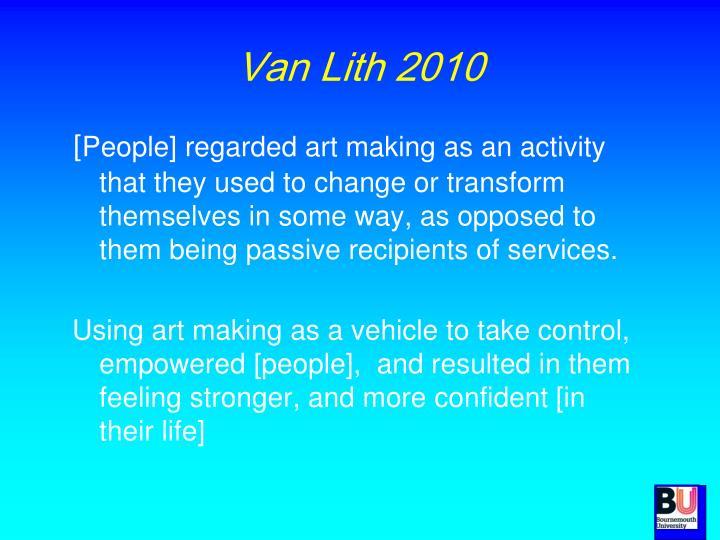 Van Lith 2010