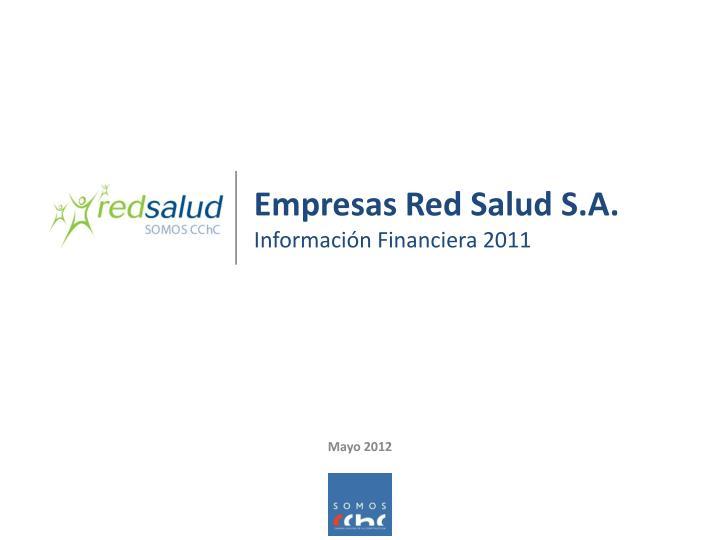 Empresas Red Salud S.A.