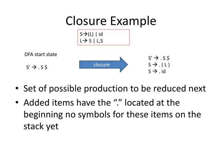 Closure Example