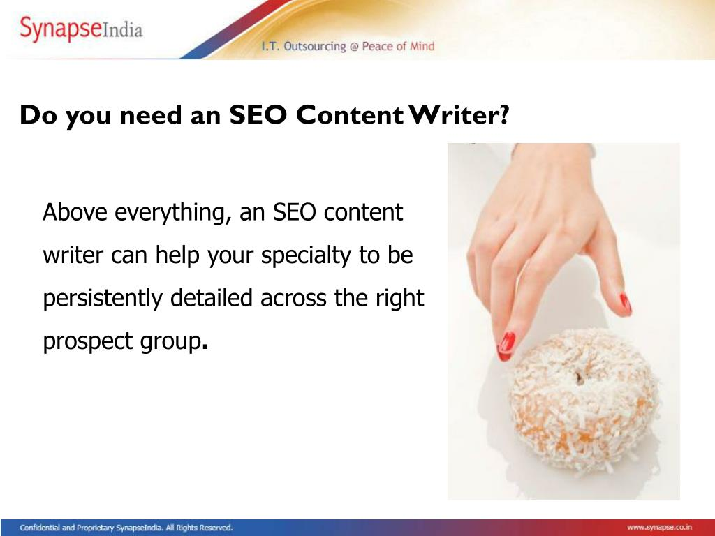 Do you need an SEO Content Writer?