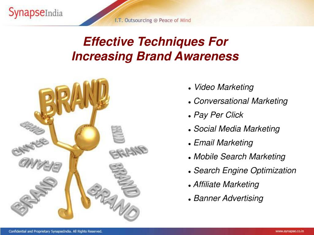 Effective Techniques For Increasing Brand Awareness