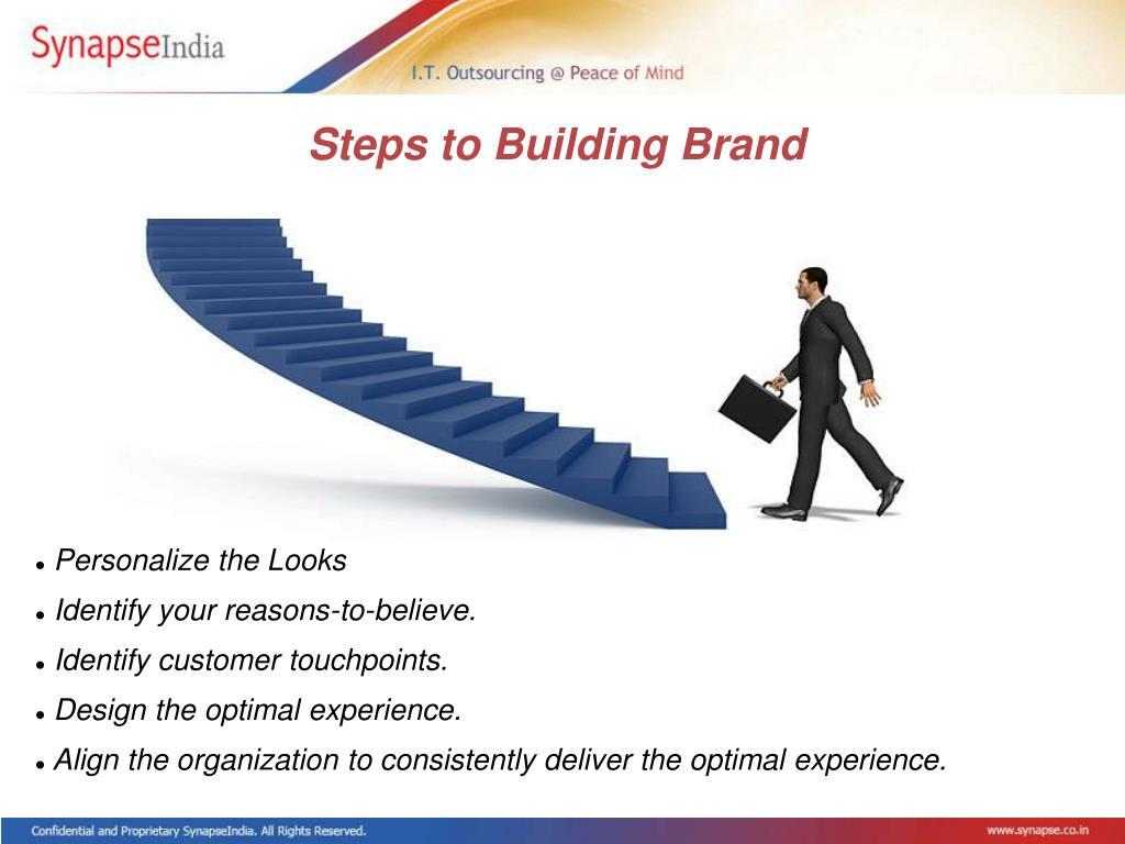 Steps to Building Brand