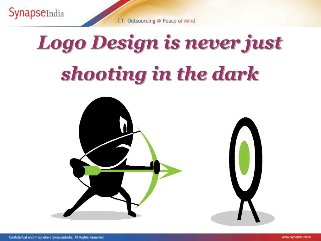 Logo Design is never just shooting in the dark
