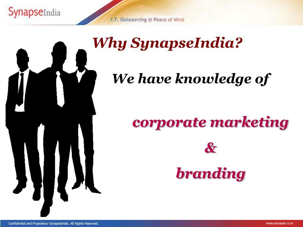 Why SynapseIndia?