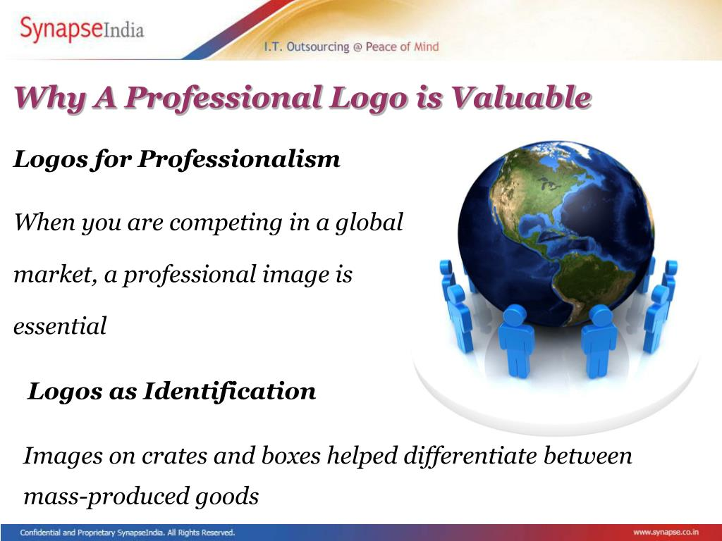 Why A Professional Logo is Valuable