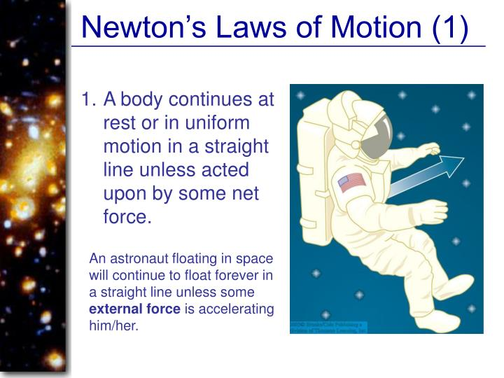 Newton's Laws of Motion (1)