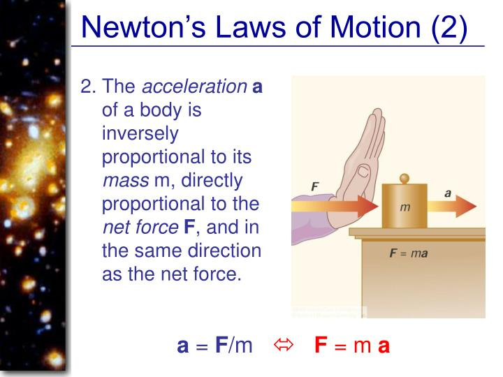 Newton's Laws of Motion (2)