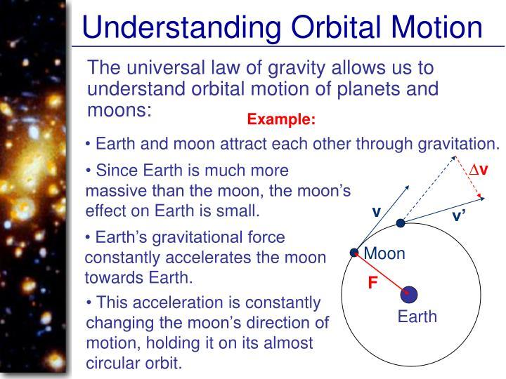 Understanding Orbital Motion