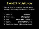 panchkarma