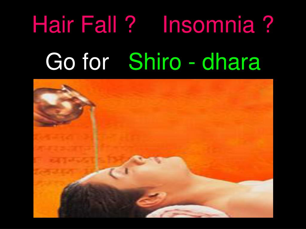 Hair Fall ?    Insomnia ?
