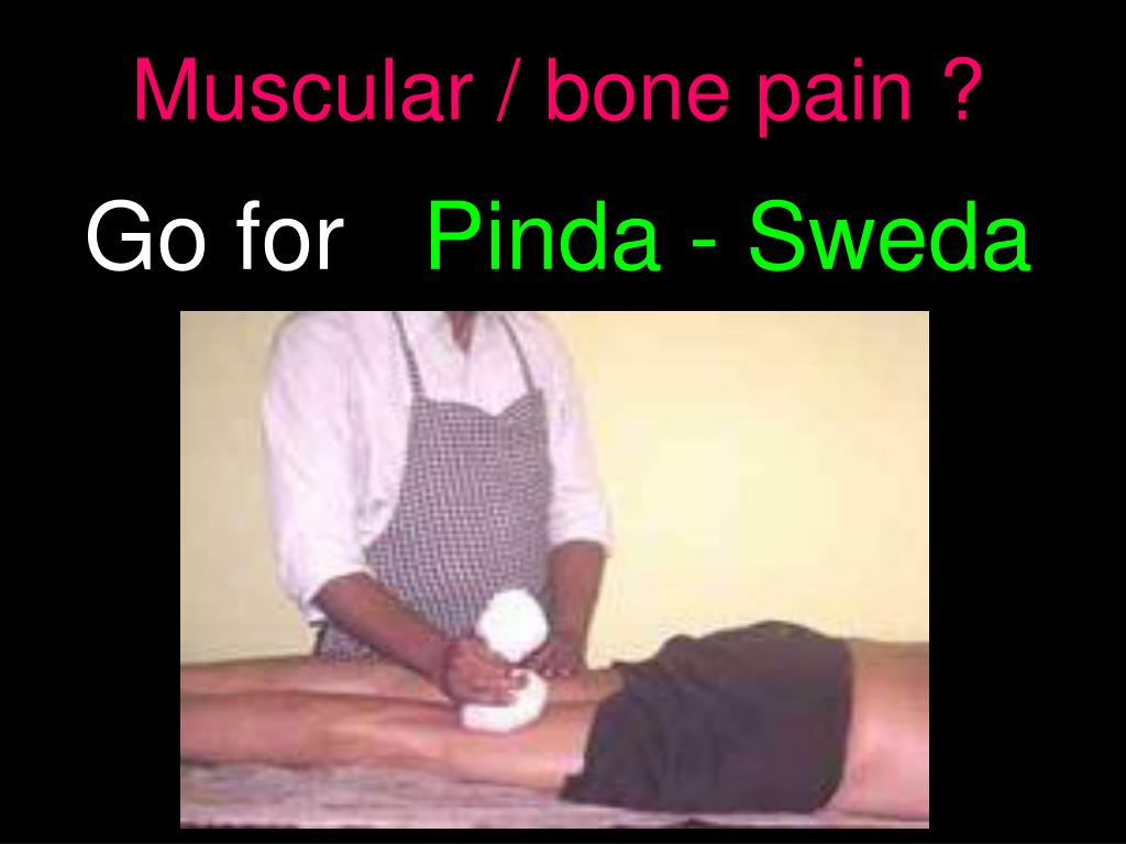 Muscular / bone pain ?