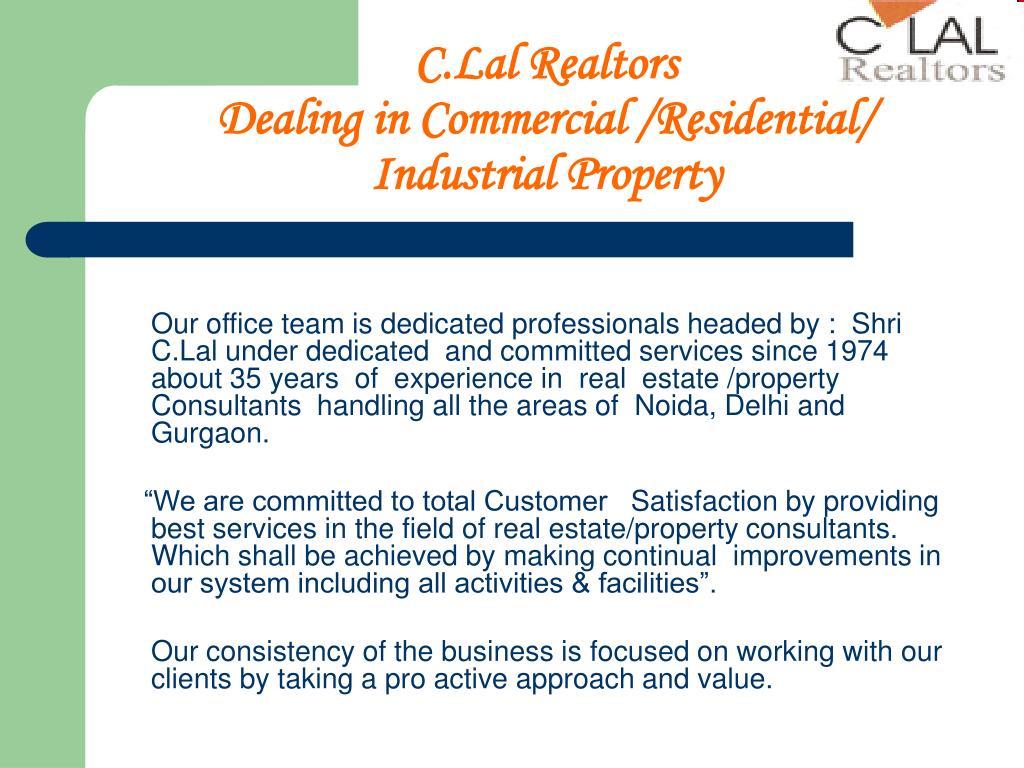 C.Lal Realtors