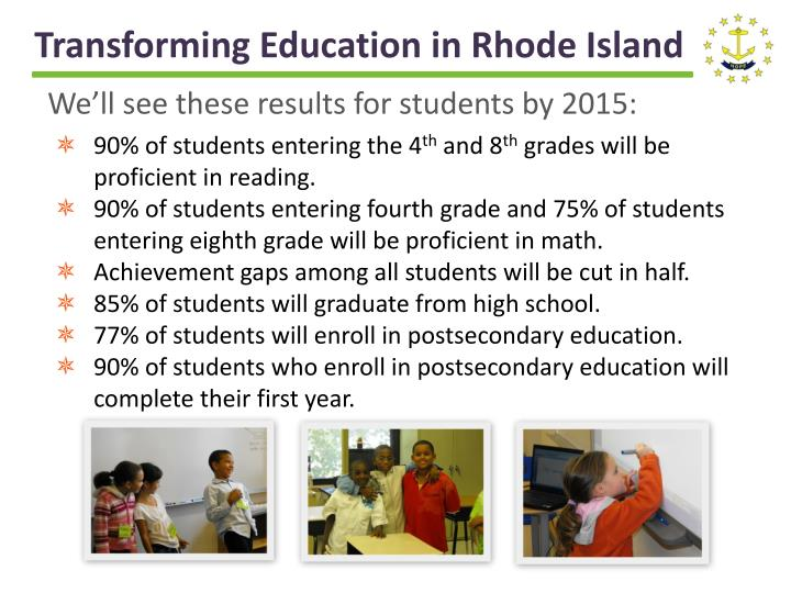 Transforming Education in Rhode Island