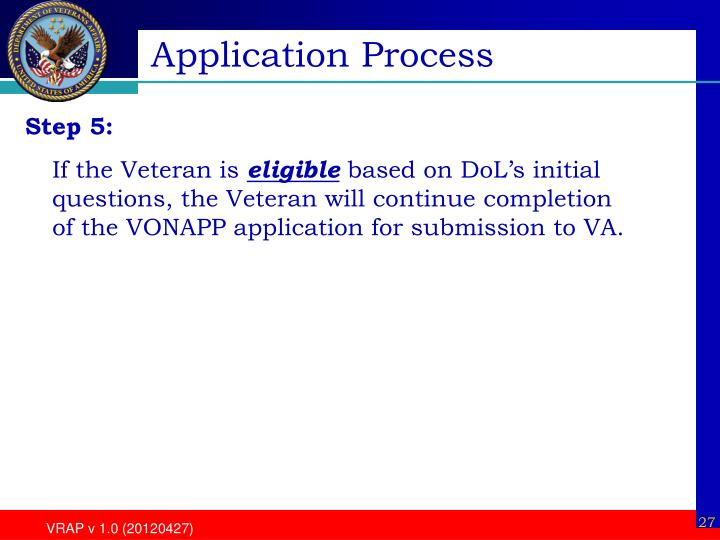 Application Process