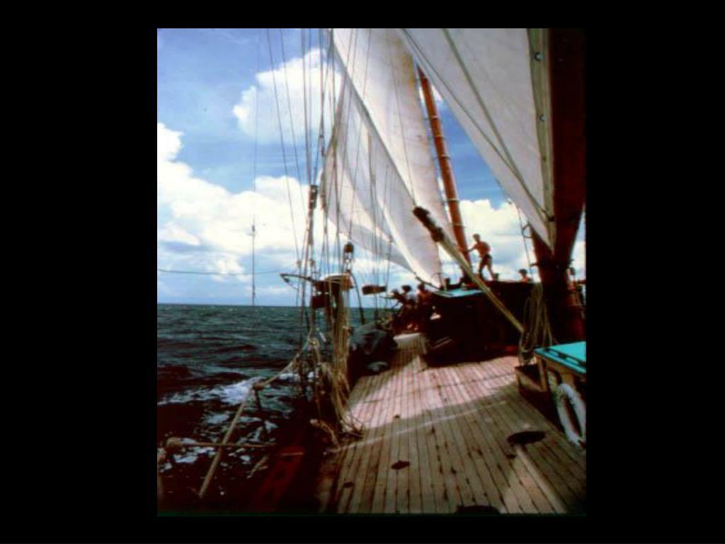 7. Sailing vessel