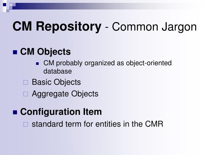 CM Repository