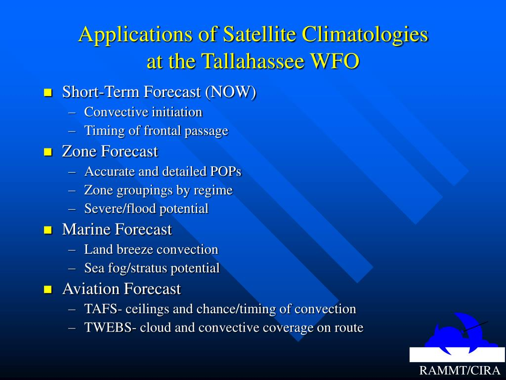 Applications of Satellite Climatologies