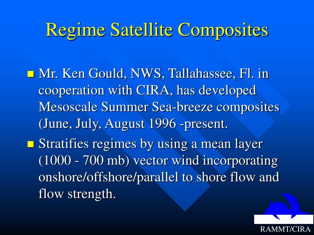 Regime Satellite Composites