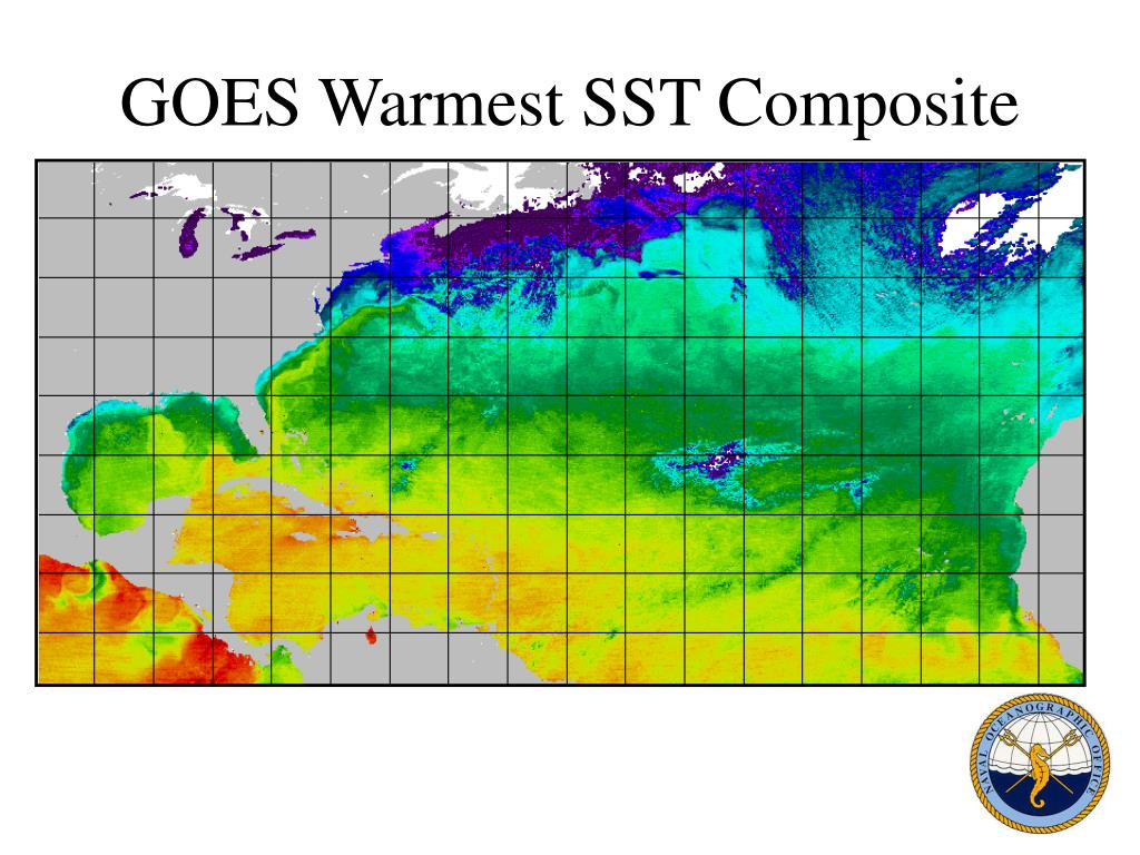 GOES Warmest SST Composite