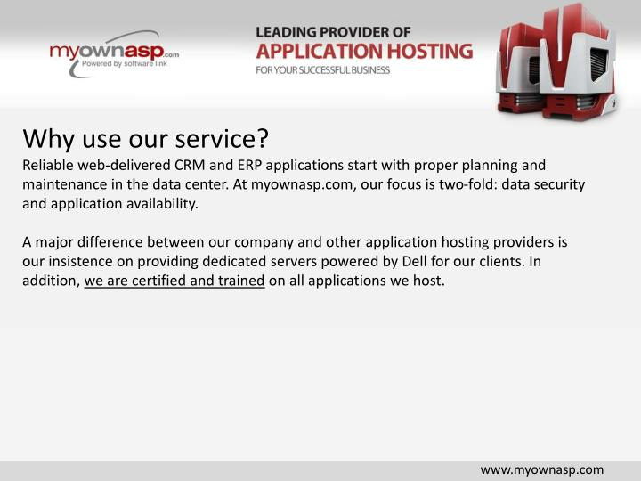 Why use our service?