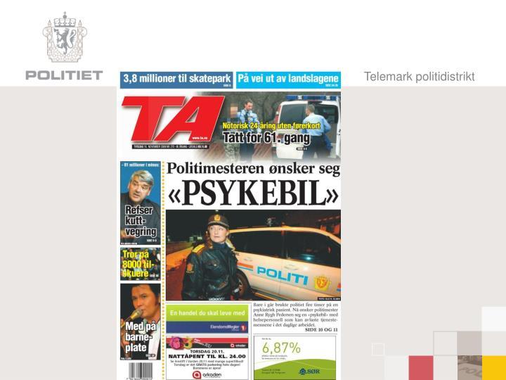Telemark politidistrikt
