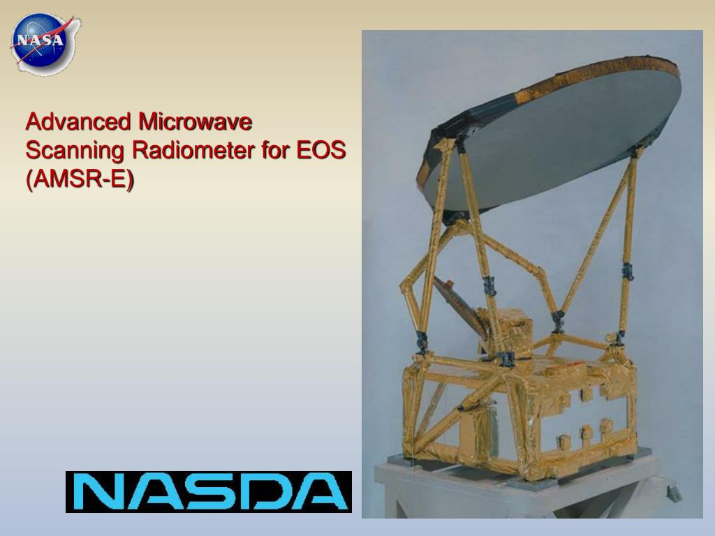 Advanced Microwave Scanning Radiometer for EOS (AMSR-E)