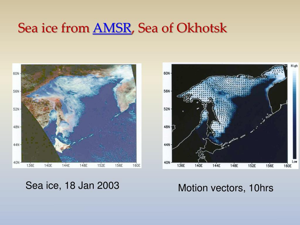 Sea ice from
