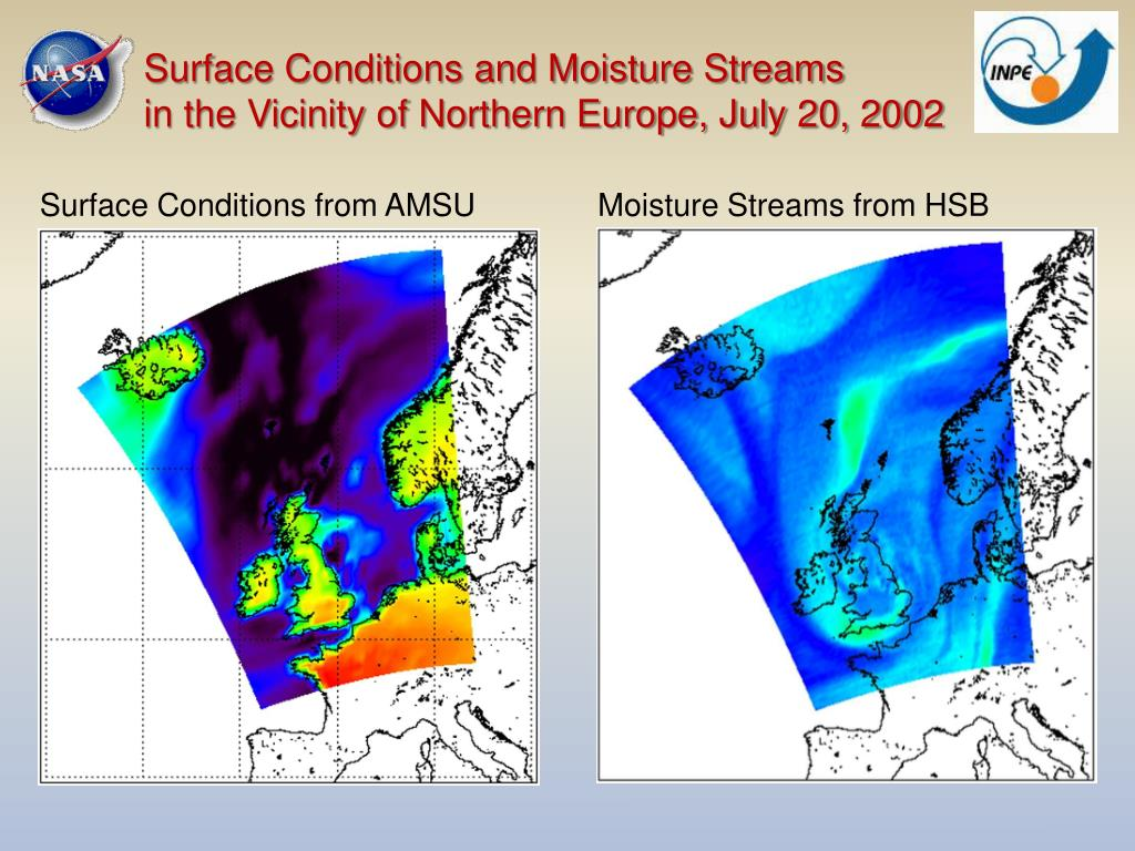 Surface Conditions and Moisture Streams